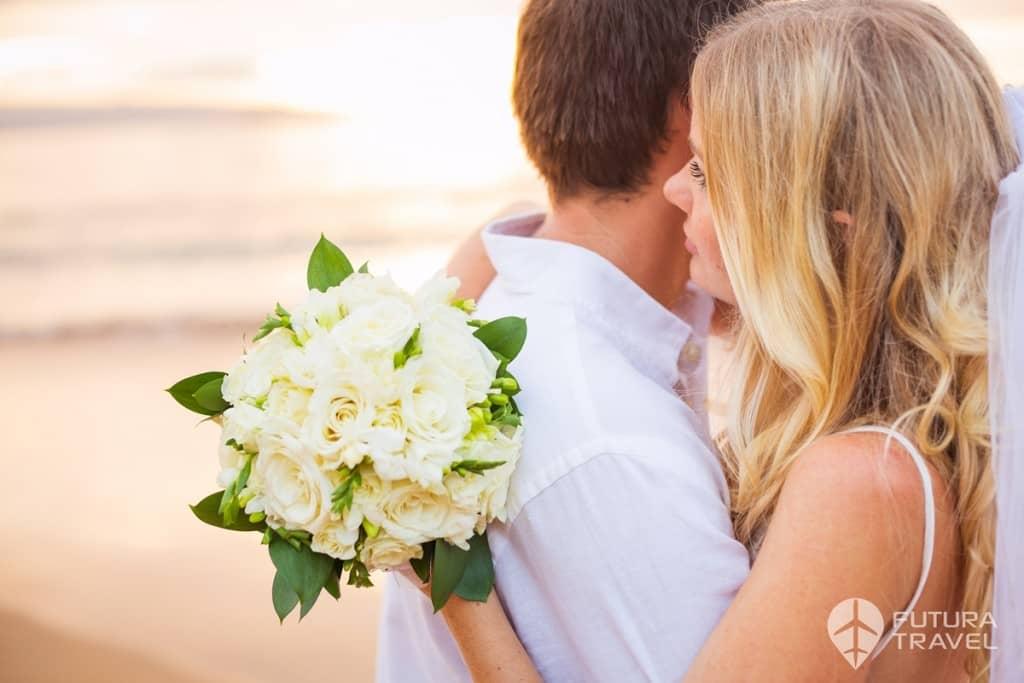 Külföldi esküvő, nászút