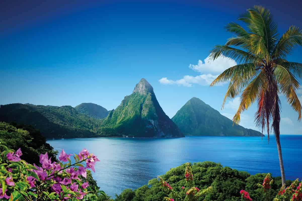 Egzotikus utak, egzotikus pihenés, külföldi esküvő, nászút - Saint Lucia - Karib-szigetek