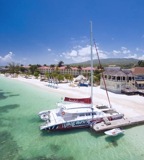 Egzotikus utak, egzotikus pihenés, külföldi esküvő, nászút - Sanndals Montego Bay Resort - Jamaika - Karib-szigetek