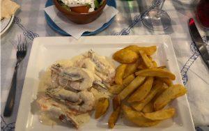 Ciprus_Ayia Napa_Görög étterem