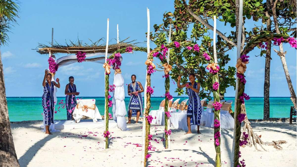 Tengerparti esküvő | Zanzibár