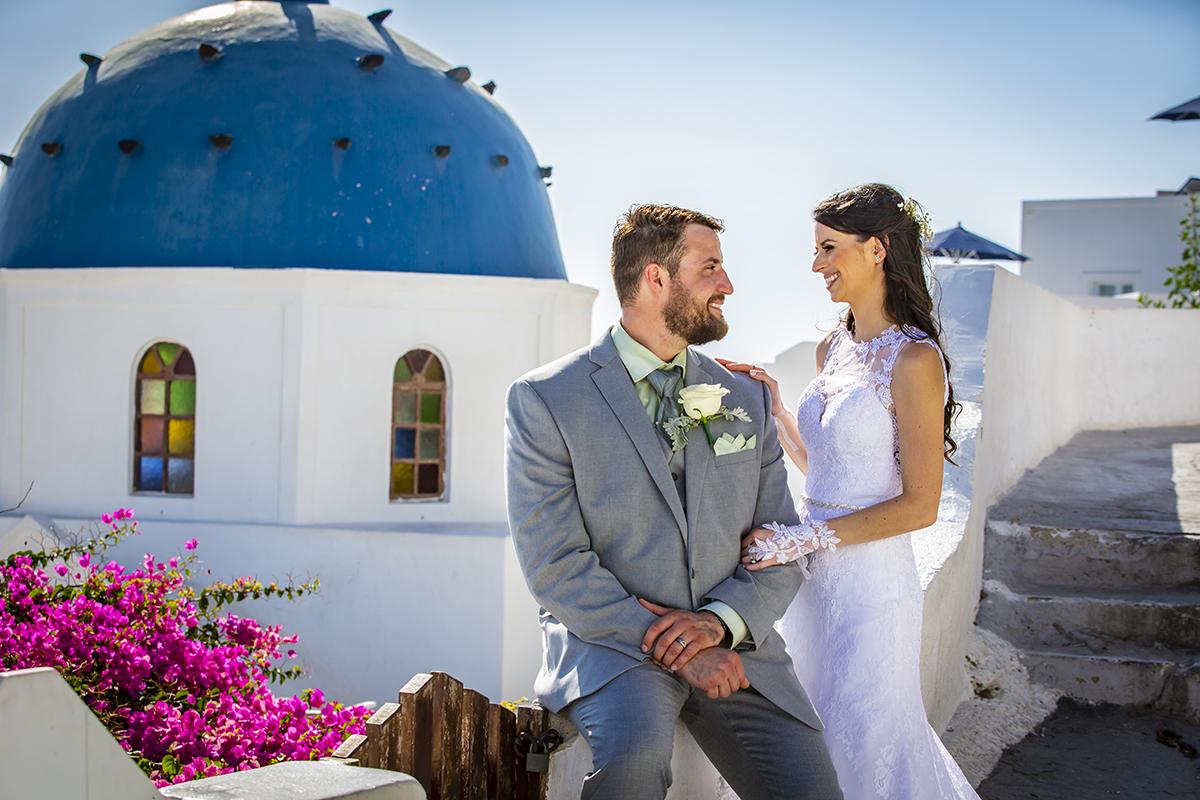 Futura Travel | Külföldi esküvők | Szantorini